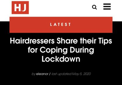 Hairdressers Share their Tips for Coping During Lockdown: James Henderson